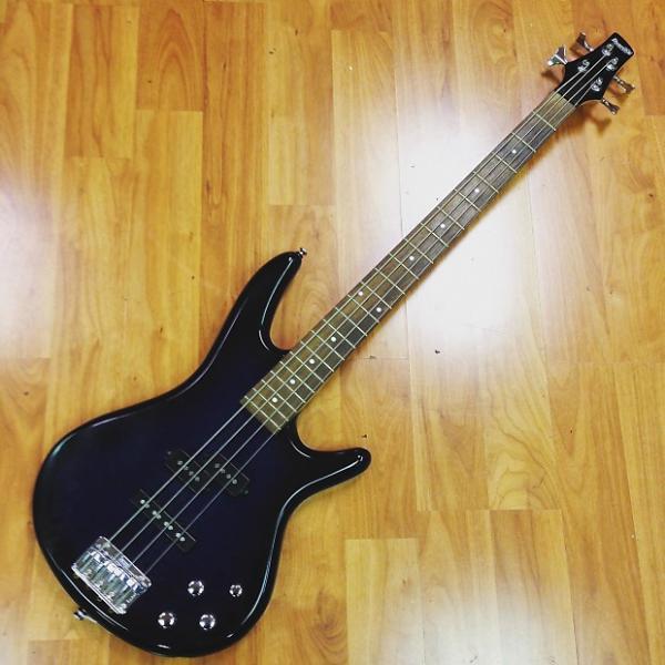 Custom Ibanez Gio 4 string bass #1 image