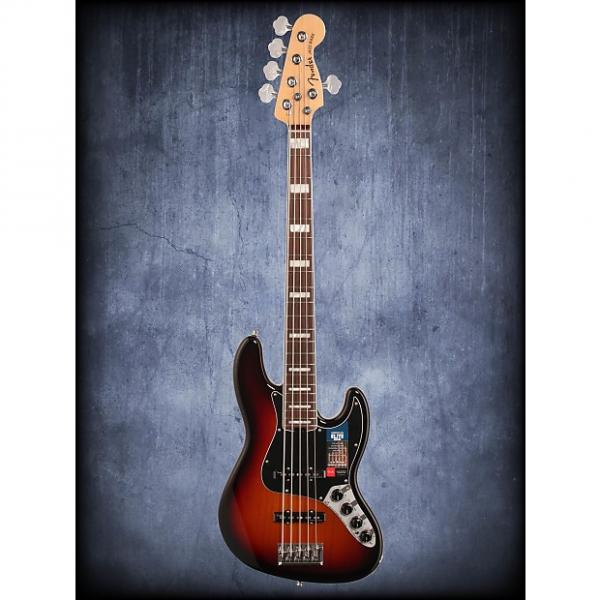 Custom Fender American Elite Jazz Bass V RW 3CSB W/C #1 image