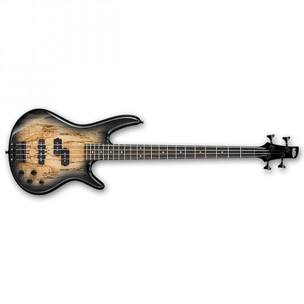 Custom Ibanez GSR200SM Electric Bass Guitar Natural Grey Burst #1 image