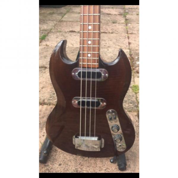 Custom Hofner SG400 (model 190 1970 Transparent Dark Brown #1 image