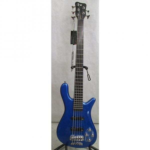 Custom Warwick Streamer LX 5   Metallic Blue w/ free hard case #1 image