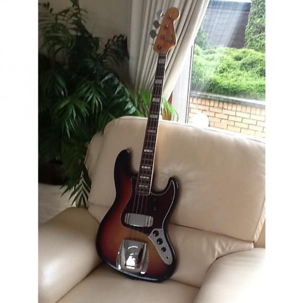 Custom Fender Jazz Bass 1970/71 Sunburst #1 image