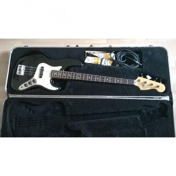 Custom Fender  American Standard Jazz Bass 1989 Black #1 image