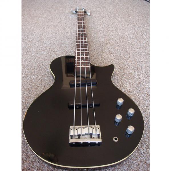 Custom Burny LSB-80, Black. Made in Japan 1991-93. FGI Active PU's. #1 image