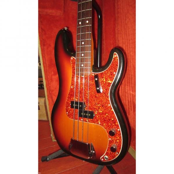 Custom 1990 Fender® '62 Reissue Precision Bass® Sunburst w/ Cool Pickguard #1 image