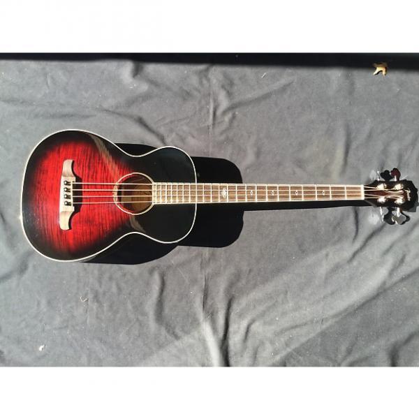 Custom Fender T-Bucket 300E Bass Tobacco Cherry Sunburst with Free Shipping #1 image