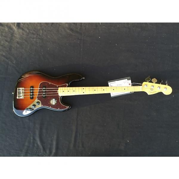 Custom Fender American Standard Jazz Bass 3-Tone Sunburst with Free Shipping #1 image