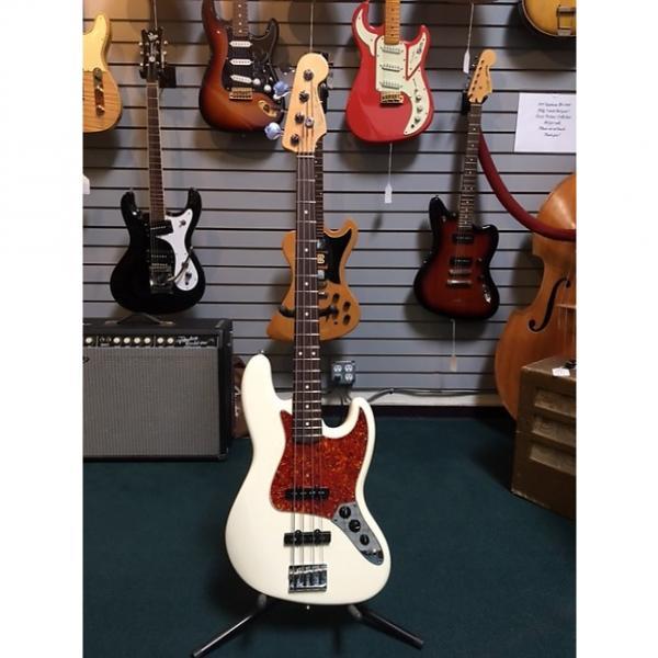 Custom Fender 50th Anniversary Jazz Bass 2010 Olympic White #1 image