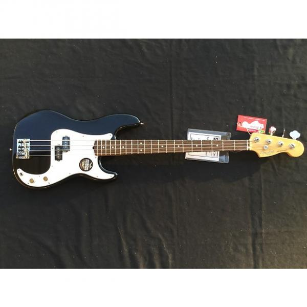 Custom Fender American Standard P Bass Black Rosewood with Free Shipping #1 image