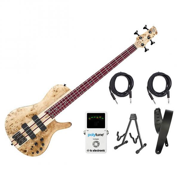 Custom Ibanez SRSC800 Deep Natural Flat Bass Workshop Bonus Kit #1 image