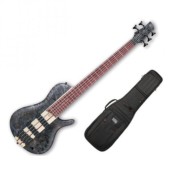 Custom Ibanez SRSC805 Deep Twilight Flat Bass Workshop w/Gig Bag #1 image
