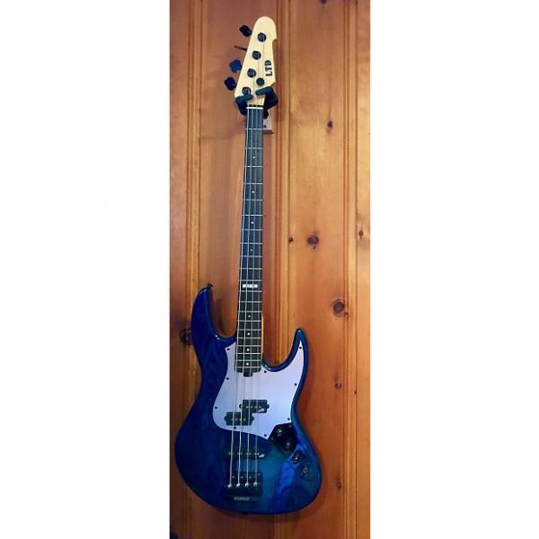 Custom ESP LTD PT-4 Pancho Tomaselli Signature Black Aqua #1 image
