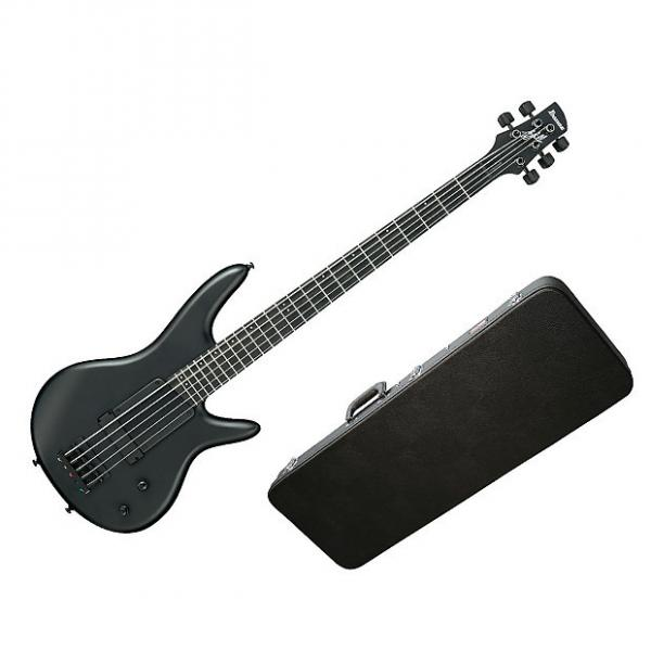 Custom Ibanez GWB35FDBKF Electric Bass Willis Signature Black w/Hard-Shell Case #1 image