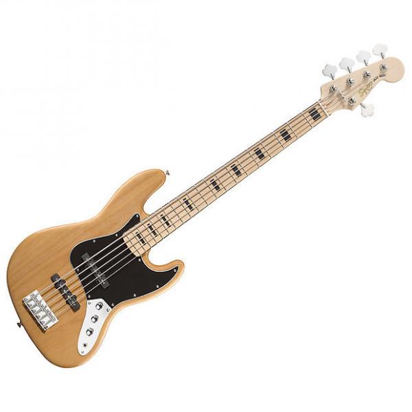 Custom Fender Squier Vintage Modified Jazz Bass V Used #1 image