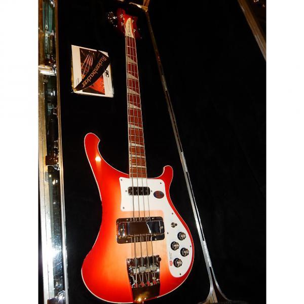 Custom Rickenbacker 4003 Electric Bass  Fireglo #1 image