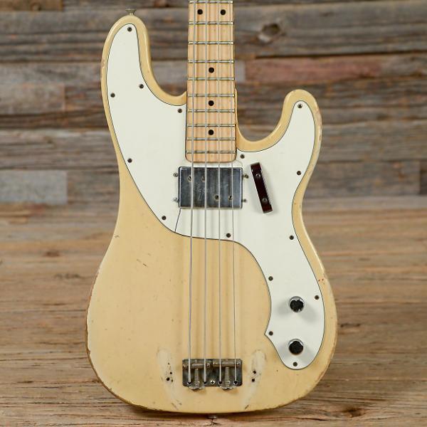 Custom Fender Telecaster Bass Olympic White MN 1973 (s806) #1 image
