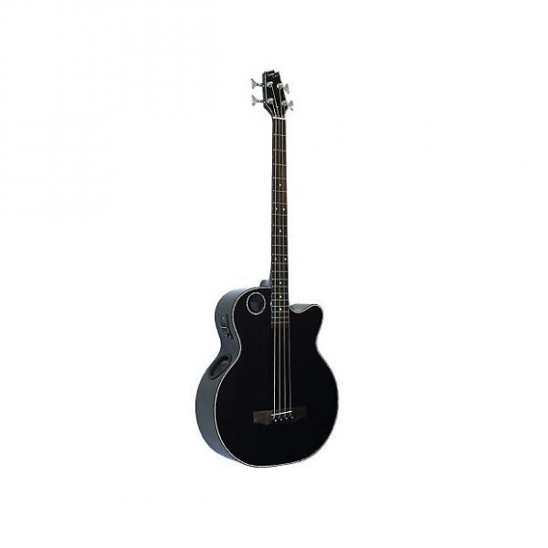 Custom Boulder Creek EBR1-B4  - Guitare basse électro acoustique #1 image