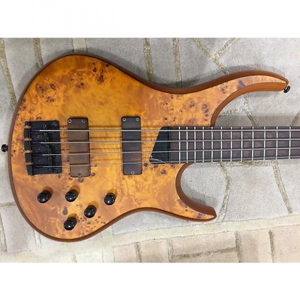 Custom MTD Kingston Z4 Amber Burl Maple #1 image