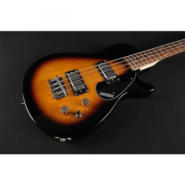 "Custom Gretsch G2224 Junior Jet Bass II Rosewood Fingerboard 30.3"" Scale - Tobacco Sunburst (092) #1 image"