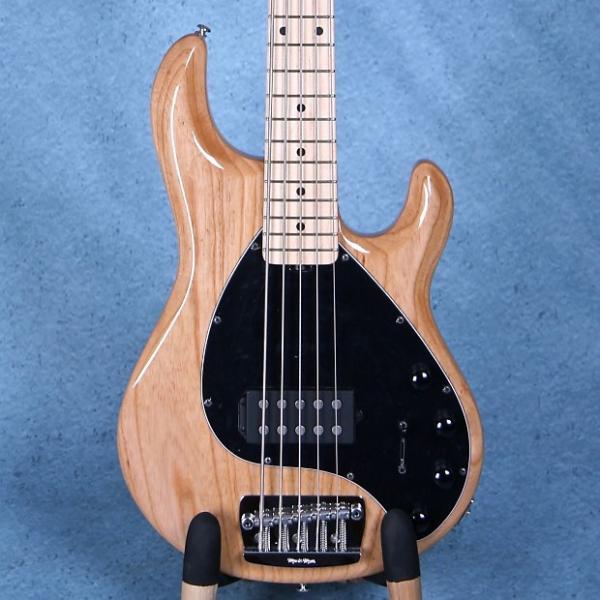 Custom Ernie Ball Musicman Stingray 5 Electric Bass Guitar - Natural E97127 #1 image