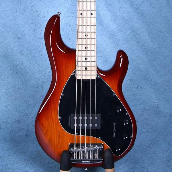 Custom Ernie Ball Musicman Stingray 5 Electric Bass Guitar - Honey Burst E97673 #1 image