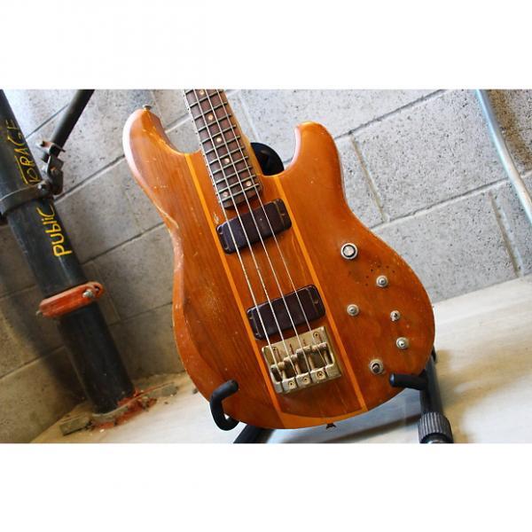 Custom Ibanez  Japan Vintage Studio ST-924 Quadra-Lock Walnut Bass Project #1 image