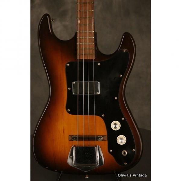 Custom 1960's KAY BASS model 5921 w/Bushwacker headstock #1 image