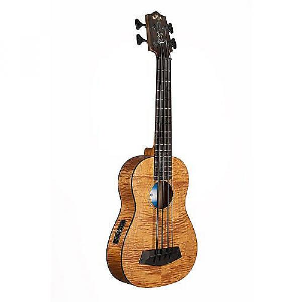 Custom Kala U Bass - Exotic Mahogany #1 image