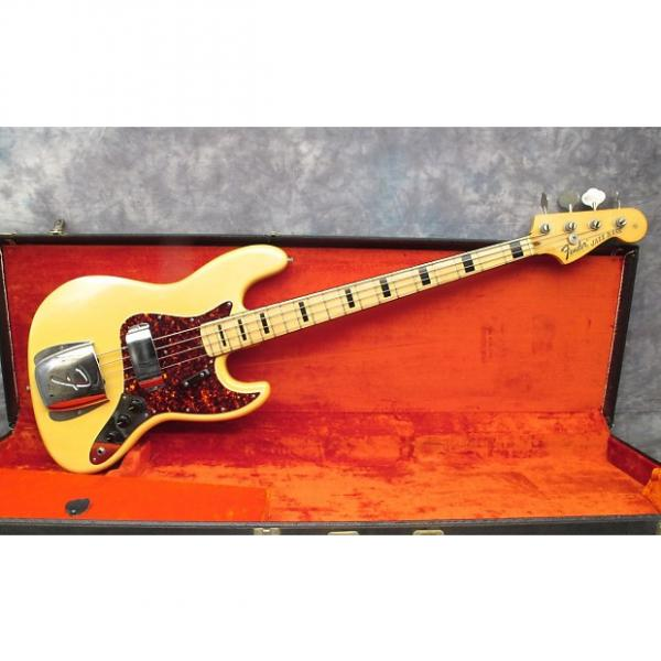 Custom 1973 Fender Jazz Bass - Blonde #1 image