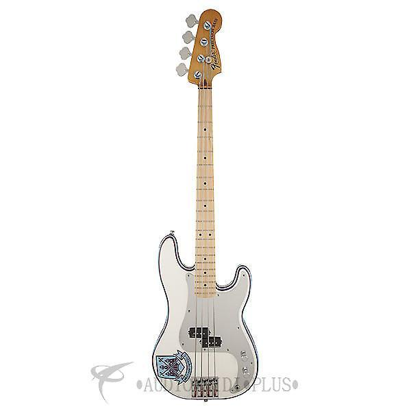 Custom Fender Steve Harris Precision Bass - Olympic White - 0141032305 - 885978471522 #1 image