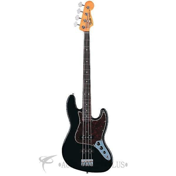 Custom Fender '60s Jazz Rosewood Fingerboard 4 Strings Electric Bass Guitar Black - 131800306 -717669138745 #1 image