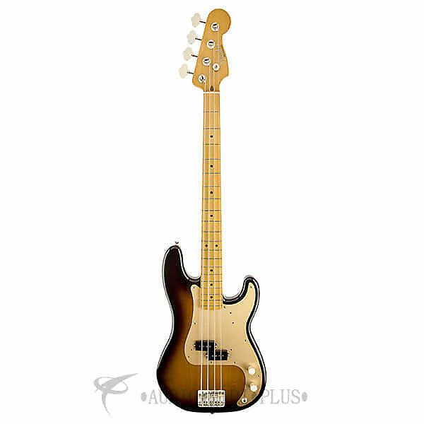 Custom Fender '50s Precision Maple Fingerboard 4 Strings Electric Bass Guitar 2-Color Sunburst - 131702303 #1 image