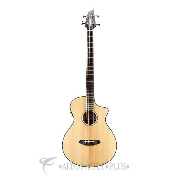 Custom Breedlove Pursuit Bass Acoustic/Electric Bass Guitar - Natural - PBAEBGNT - 875934006172 #1 image