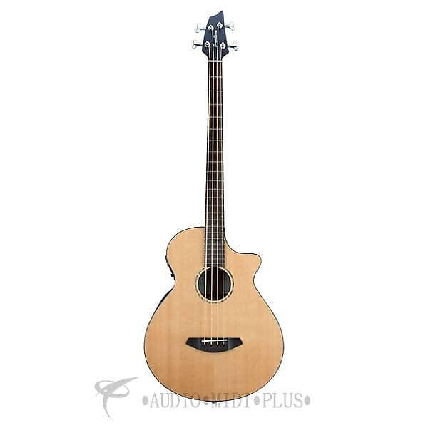 Custom Breedlove Solo Bass Acoustic/Electric Bass Guitar-Natural - SLBAEBG - 875934005700 #1 image