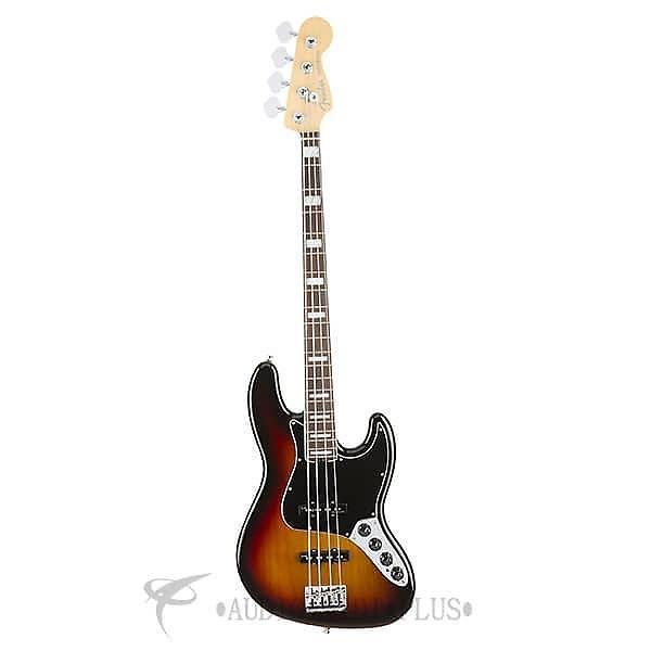 Custom Fender American Elite Jazz Rosewood Fingerboard 4 Strings Electric Bass Guitar 3-Color Sunburst #1 image