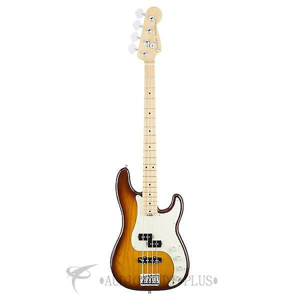 Custom Fender American Elite Precision Bass Ash Maple Fingerboard 4S Electric Bass Guitar Tobacco Burst #1 image