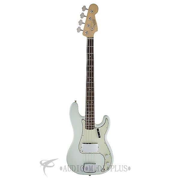 Custom Fender American Vintage 63 Precision 4S Electric Bass Guitar Faded Sonic Blue-191010872-885978279043 #1 image