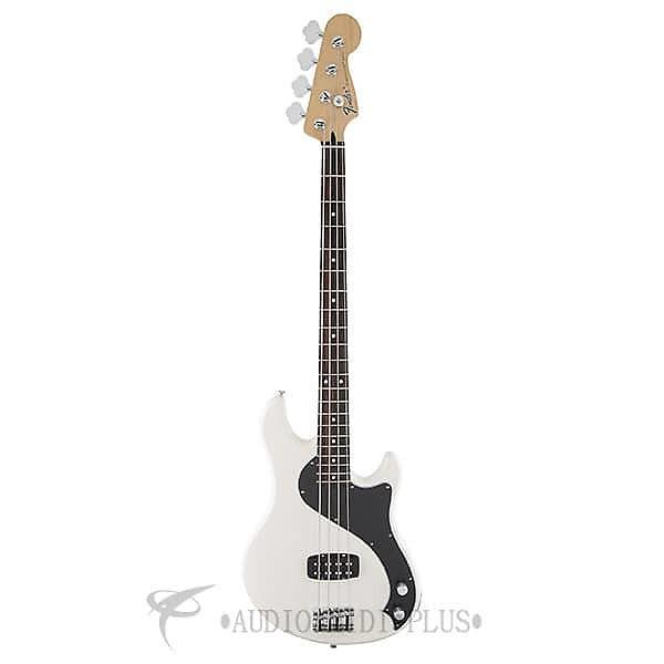 Custom Fender Standard Dimension Rosewood Fingerboard 4 String Electric Bass Guitar Olympic White-149600505 #1 image