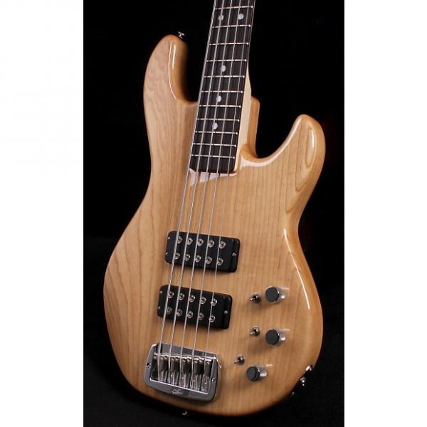 Custom G&L L-2500 5-String Bass 2016 Natural Gloss #1 image