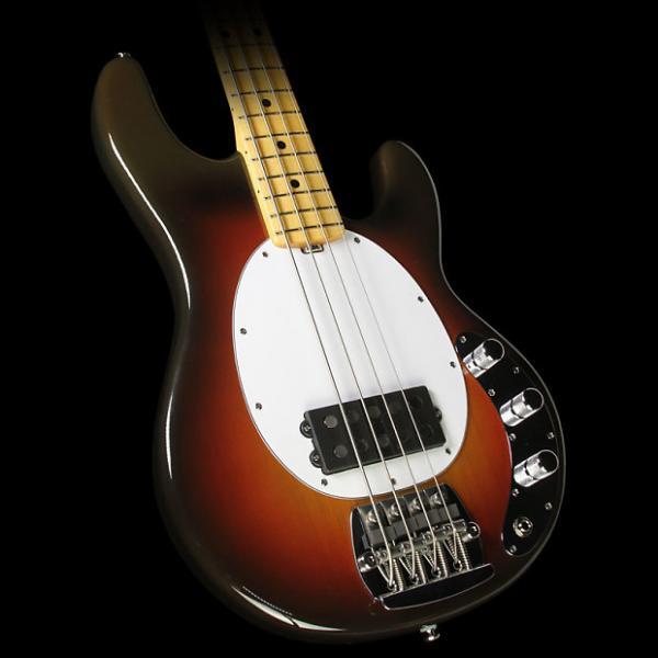 Custom Ernie Ball Music Man 40th Anni StingRay Old Smoothie Electric Bass Chocolate #1 image