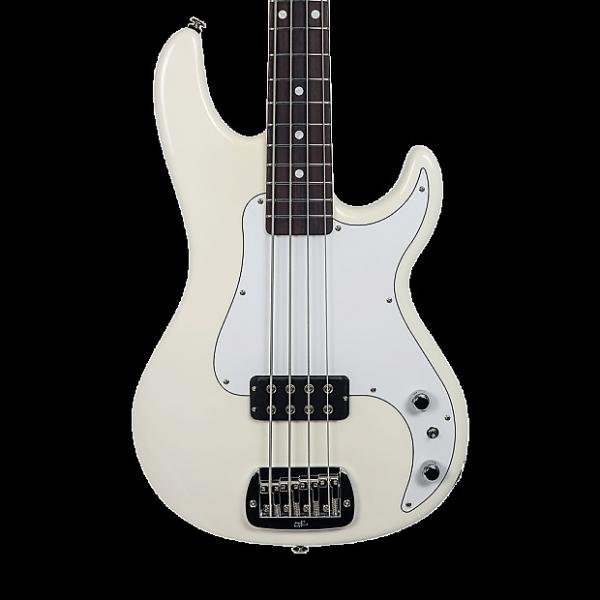 Custom G&L USA Kiloton Electric Bass - Alpine White with Case #1 image