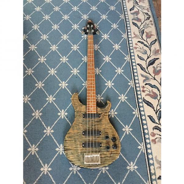 Custom Paul Reed Smith Bass Guitar 1988 Faded Whale Blue #1 image