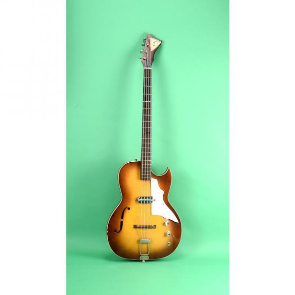 Custom Kay Bass guitar 1965 Sunburst #1 image