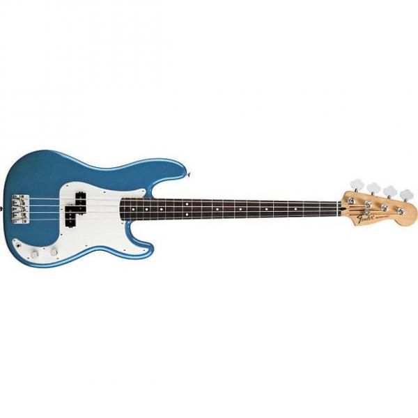 Custom Fender Standard Precision Bass, Lake Placid Blue, Rosewood Neck #1 image