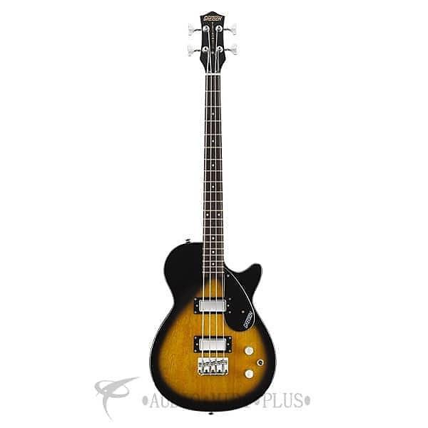 Custom Gretsch G2224 Electromatic Junior Jet Bass II Short-Scale Bass Guitar 4-String Tobacco Sunburst #1 image