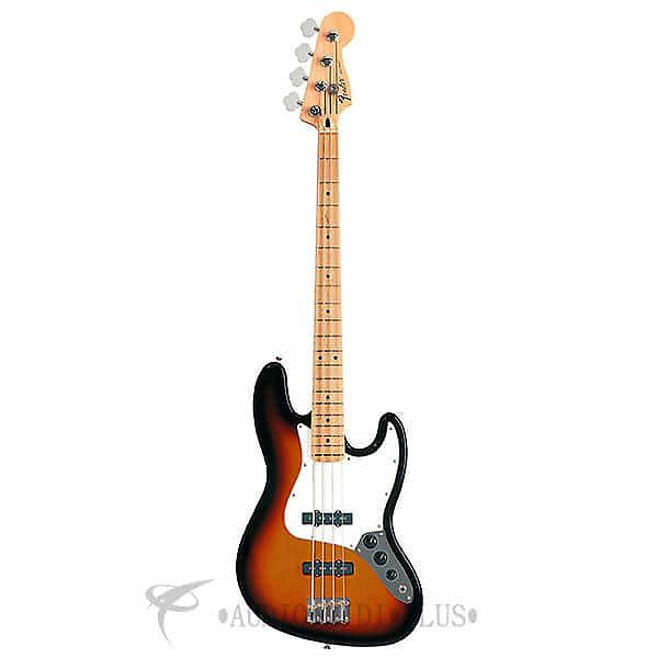 Custom Fender Standard Jazz Maple Fingerboard 4 Strings Electric Bass Guitar Brown Sunburst - 146202532 #1 image