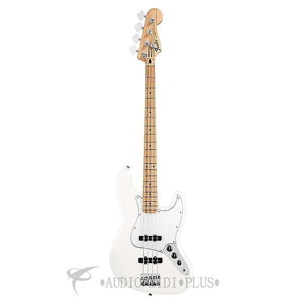 Custom Fender Standard Jazz Maple Fingerboard 4 Strings Electric Bass Guitar Arctic White - 146202580 #1 image