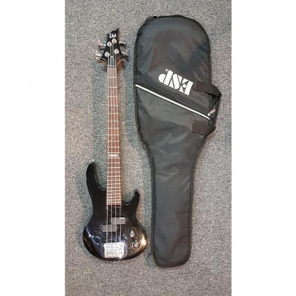 Custom ESP/LTD B4-JRKIT 3/4 Size Bass with Gig Bag. Black. Pre-owned. 2 In Stock! #1 image