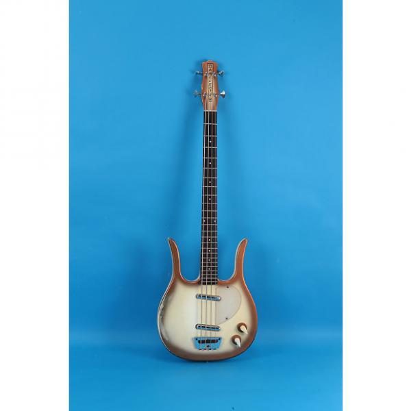 Custom Danelectro  Longhorn Bass 1963 Copperburst #1 image