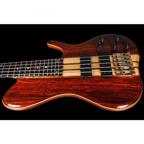 Custom 2016 Ken Smith Singlecut 5EG Elite 5-String Bass ~ Cocobolo Gloss #1 image